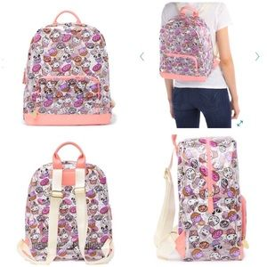 ❤️LUV BETSEY full size clear printed backpack  NWT